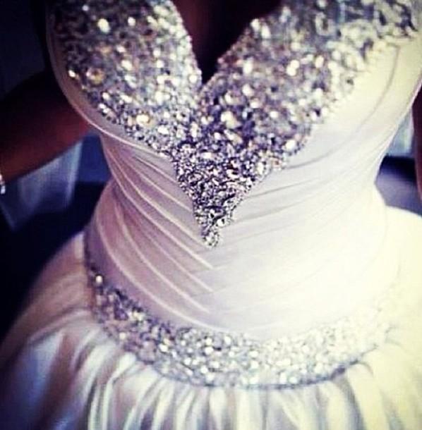 dress, prom dress, wedding dress, ball gown dress, gorgeous dress ...