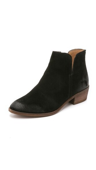 suede booties booties suede black shoes