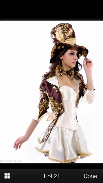 dress costume alice in wonderland