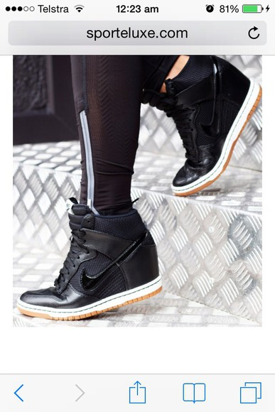 shoes wedge high heels