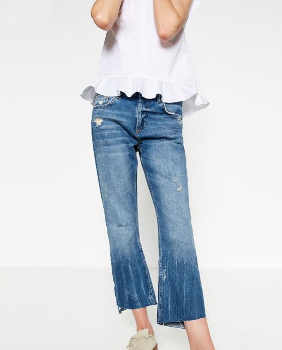 Bootcut jeans zara