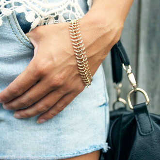 leaf bracelets jewels