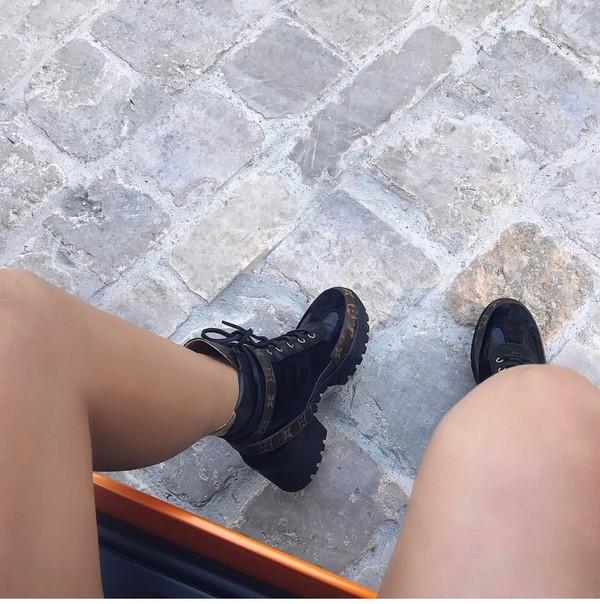 5300c7cdc59 shoes boots lv boots louis vuitton combat boots brown combat boots • black  combat boots.