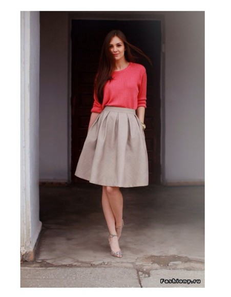 skirt grey grey skirt cardigan