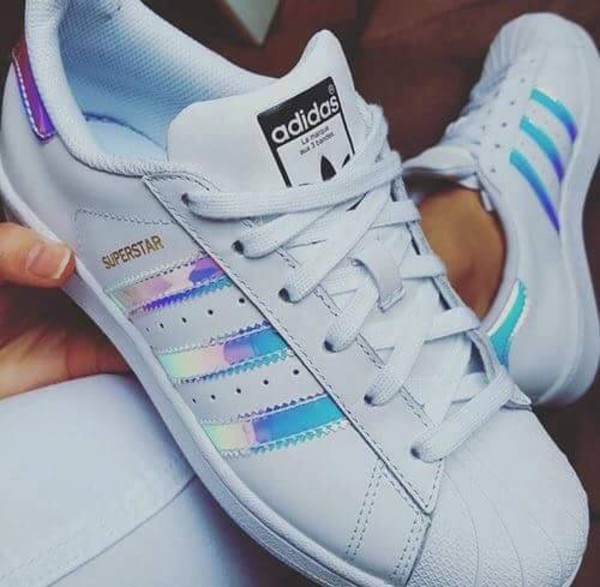 Adidas Superstar Girls Silver