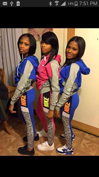 leggings nike jogging suit city outfits jacket top colorful jumpsuit sweatpants hoodie tracksuit tracksuit trousers clothes sweatshirt nike air nike sweater nike tracksuit nike jumpsuit pink nike suit colorblock nike jacket nike running shoes nike hoodie nike outfit nike pullover nike leggings