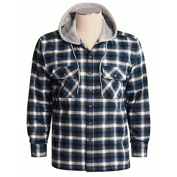 blouse hoodie menswear flannel shirt