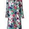 Msgm rose jacquard metallic (grey) coat, women's, size: 38, acrylic/polyamide/polyester/metallic fibre