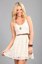 dress,cotton on,white,lace dress,lace,mini,white dress