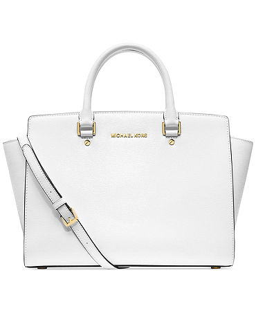 MICHAEL Michael Kors Selma Large Satchel - Handbags & Accessories - Macy's
