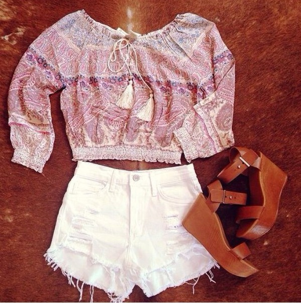 shirt shoes shorts