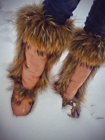 fur ugg boots boots winter boots uggboots instaboots pink boots fur boots style russia fashion girl must have russian girl favorite