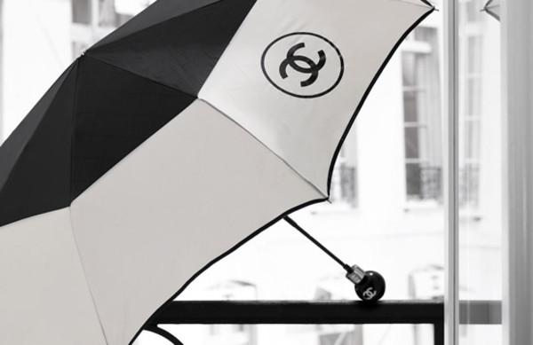umbrella chanel rain hat