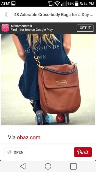 bag brown black bag gold hardware preppy crossbody bag medium size