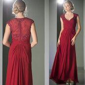 dress,evening dress,formal,womensclothing,discountdressshop,burgundy,cap sleeve dress