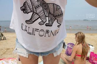 shirt california aztec