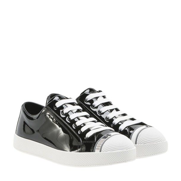 Prada Linea Rossa sneakers low top sneakers black shoes