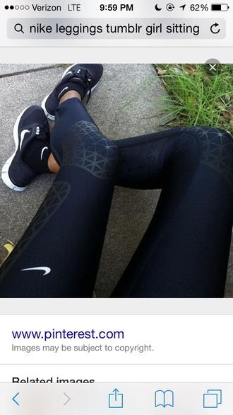 leggings nike sportswear printed leggings gym sports pants workout leggings