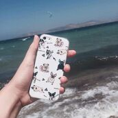 phone cover,yeah bunny,pugs,frenchie,funny,iphone cover,iphone,iphone case,poop empji,kawaii