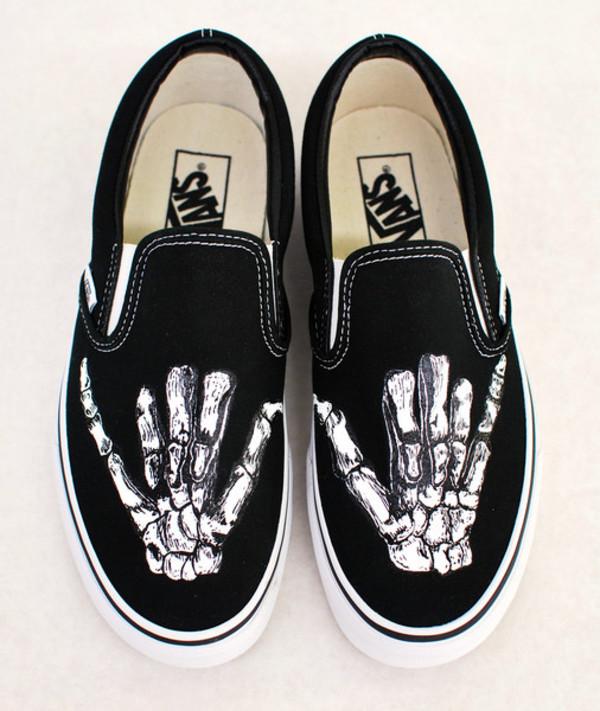 Jack Skellington Mens Shoes