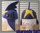 hat,sharpedo,shark,pokemon