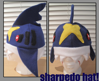 hat sharpedo shark pokemon