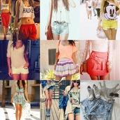 t-shirt,shirt,dress,shorts,skirt,hoddie,pants
