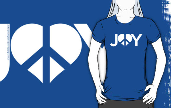 shirt joy peace
