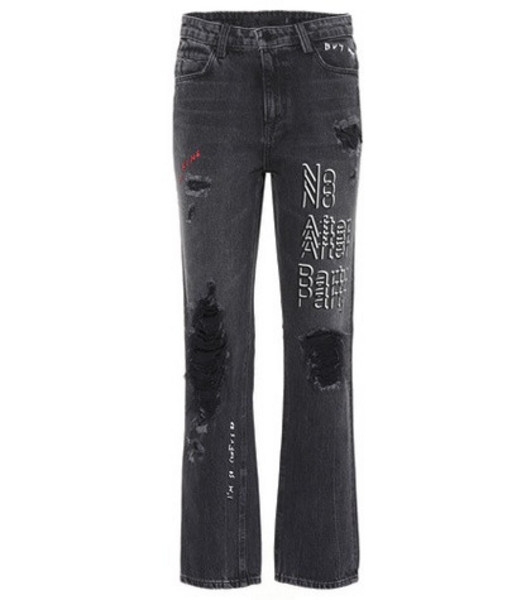 6603abc03a517 Alexander Wang Wang 001 High-Rise Skinny Jeans in black - Wheretoget