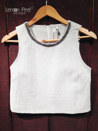 top crop tops boxy boxy crop top embellished embellished top