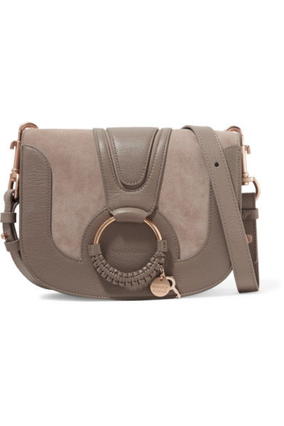 mini bag shoulder bag leather suede