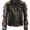 Embellished leather jacket | moda operandi