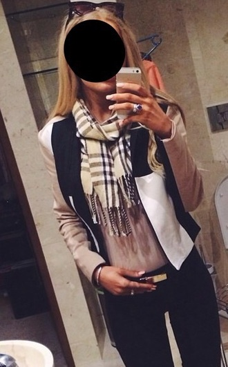 scarf plaid burberry beautiful cashmere