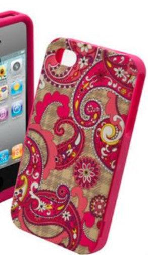 New Vera Bradley Hardshell iPhone 5 Snap on Case Paisley Meets Plaid | eBay