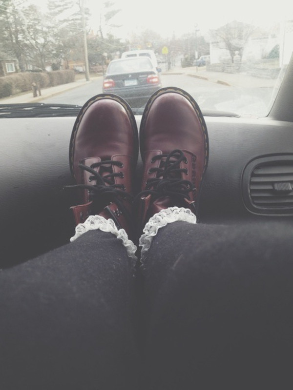 shoes boot combat boots cute red boots red combat boots beautiful grunge hipster harcore underwear