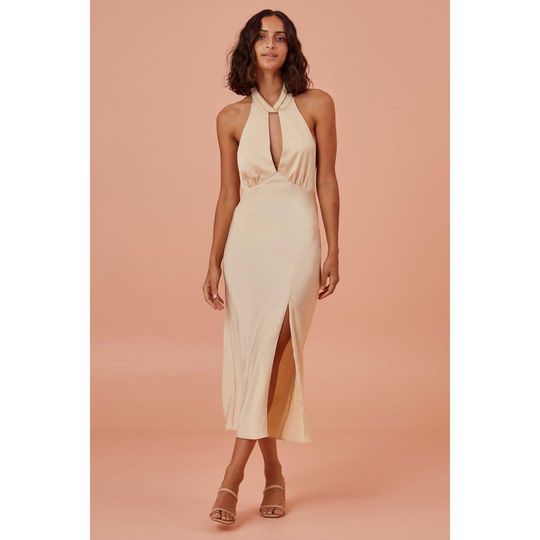 GABRIELLA DRESS - CHAMPAGNE