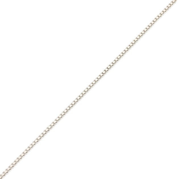 Sterling Silver Horizontal Initials Bar Necklace - Onecklace