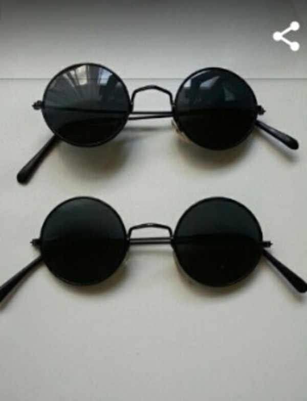 Fashion Vintage Inspired Retro Round Circle Sunglasses Men ...