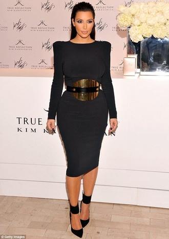 belt mirror belt kim kardashian girl gold metal metallic kim kardashian style waist belt gold belt