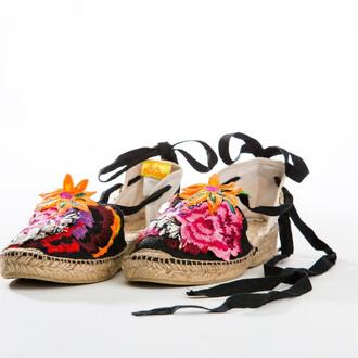 shoes agua bendita designer shoes lace up espadrilles bikiniluxe