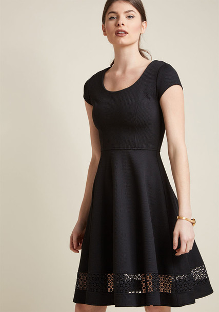 MDD1202 dress black dress heart feminine black