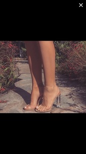 shoes,heels,clear,high heel sandals