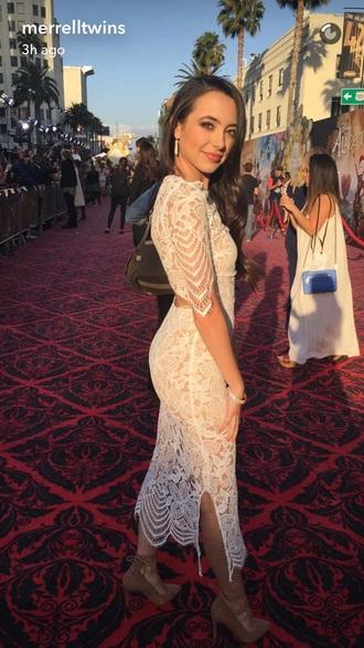 dress lace long white dress merrell twin lace dress sparkle
