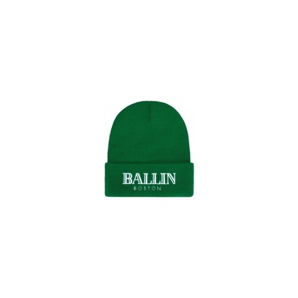 ALEX AND CHLOE / BALLIN IN BOSTON - BEANIE - CELTICS GREEN W... - Polyvore