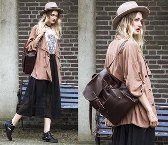 bag zaful choies streetstyle salmon urban casual backpack jewels bohemian leather backpack lookbook