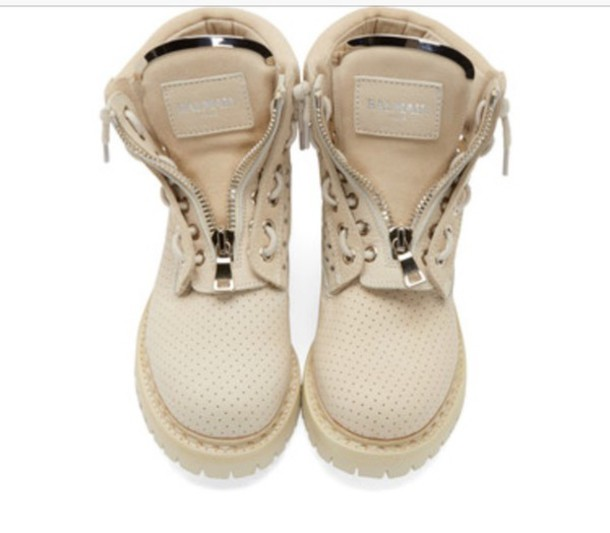 shoes balmain boots
