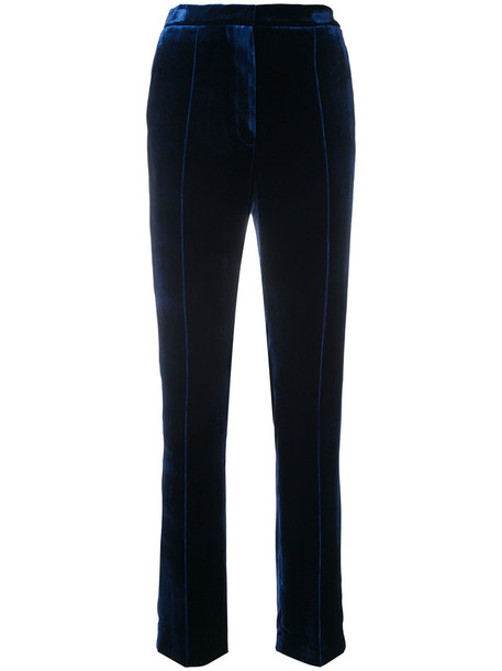 GOLDEN GOOSE DELUXE BRAND women blue silk pants