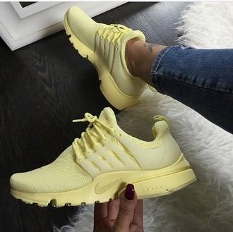 shoes nike yellow