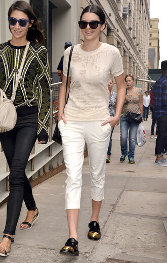 top shoes kendall jenner fashion week 2014 streetstyle