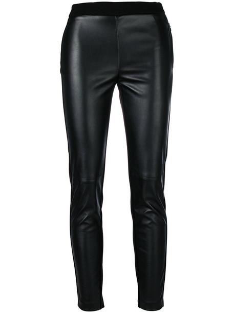 Ki6 leggings cropped women spandex black pants